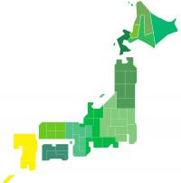 日本地図(九州)