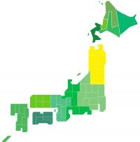 日本地図(東北)