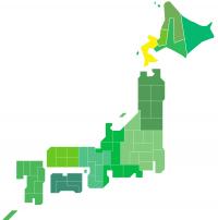 日本地図(道南)